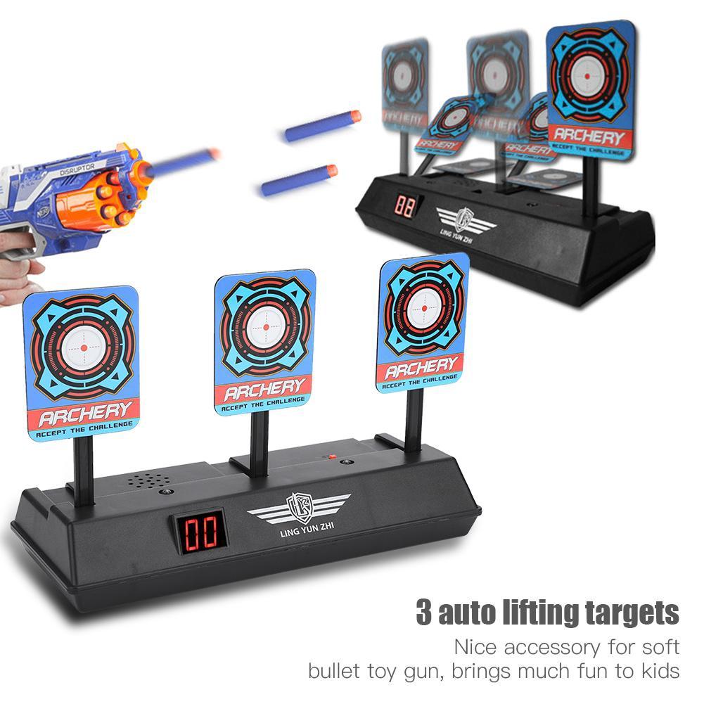 Electric Score Bullet Target Toy For N-Strike Elite Blasters Kids Toys Gun