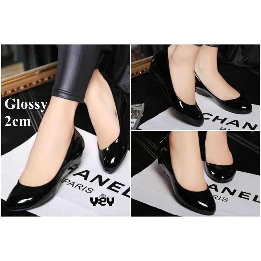 Dapatkan Harga Sepatu Flat Shoes Glossy Diskon Shopee Indonesia Amazara Catrice Nude Flatshoes Ivory 40