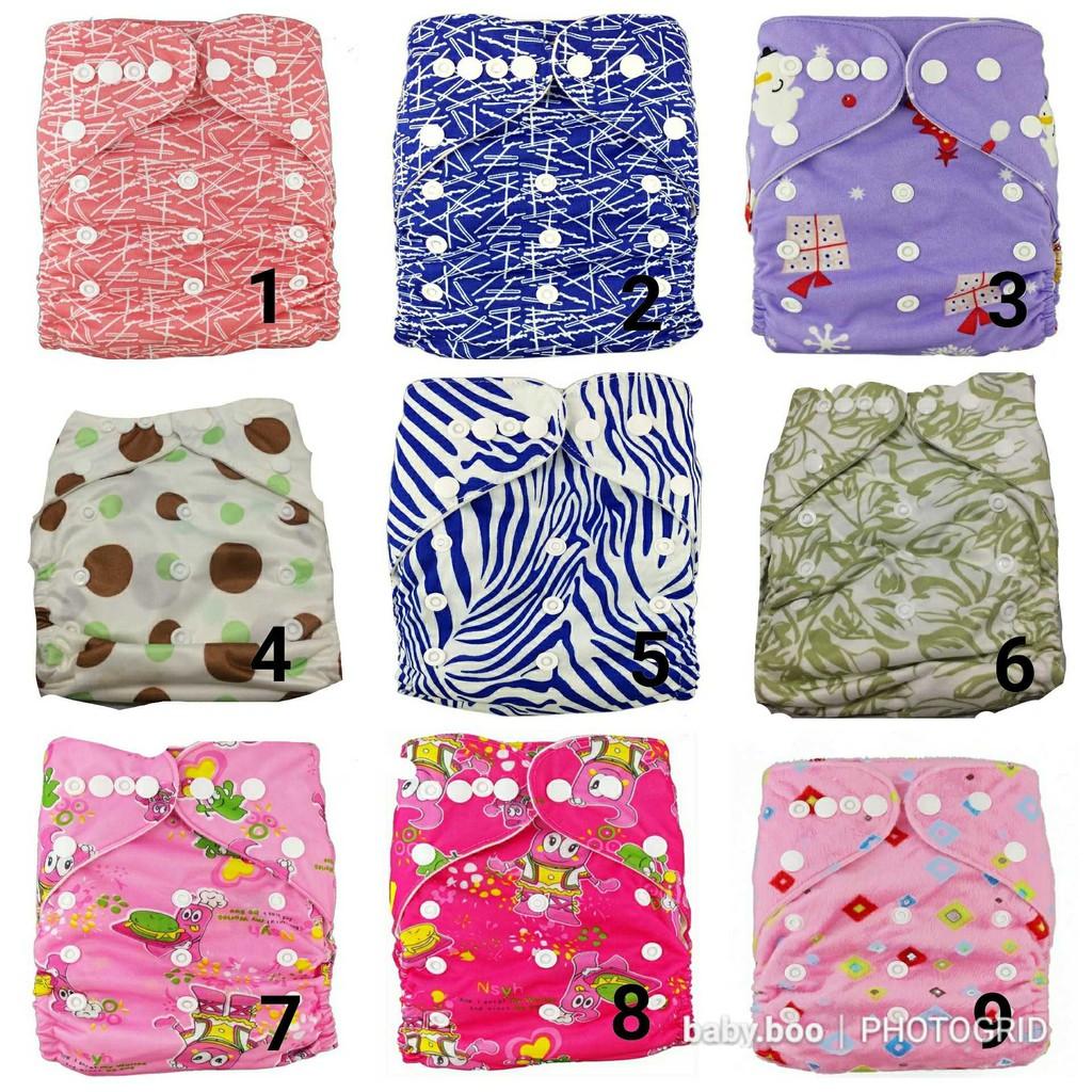 Clodi Ecobum Uc Universal Cover Cloth Diaper Popok Kain Minikinizz Izzy Eco Grosir  Motif 6 Shopee Indonesia