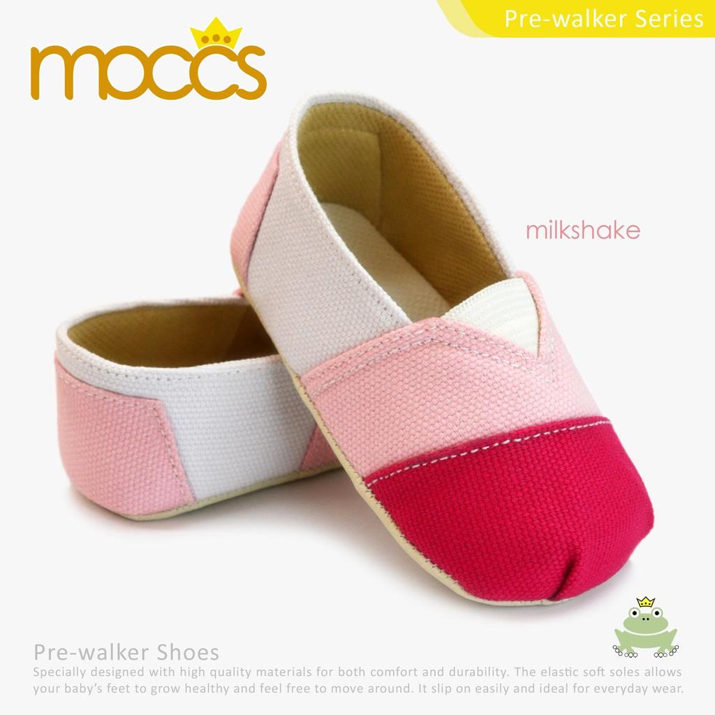 Sepatu Bayi Baby Shoes Prewalker Freddie The Frog Karen Perempuan Tamagoo Gwen Grey Prew 9 12 Bulan White Shopee Indonesia