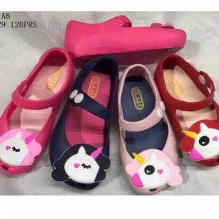 6e63be8db14f Sepatu Anak Jelly Shoes Premium Cute Unicorn 688-CUN