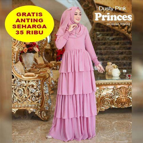 Model Baju Gamis Sifon Terbaru 2020 Hijabfest