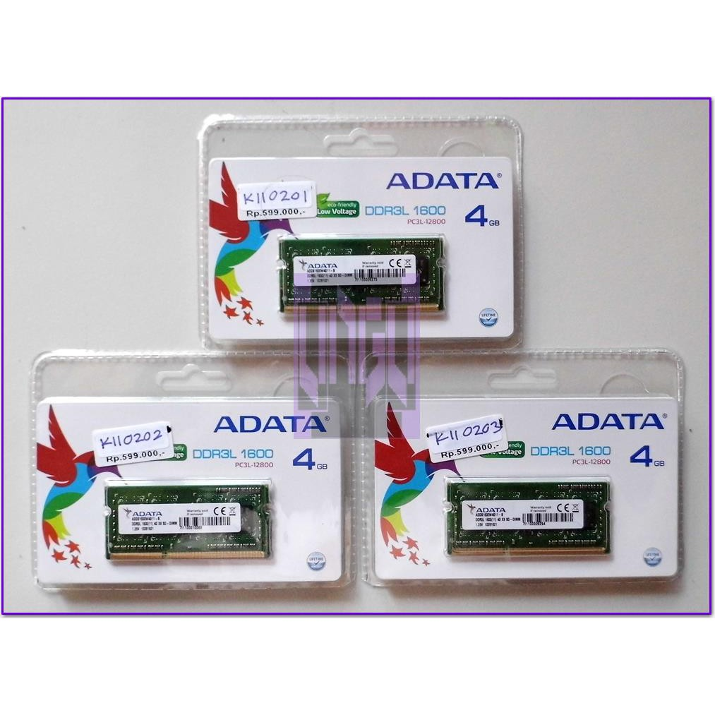 V Gen Ddr3 4gb Pc 12800 1600 Mhz Sodimm Notebook Laptop Ram Shopee Memory Platinum 2gb Pc12800 1600mhz Indonesia