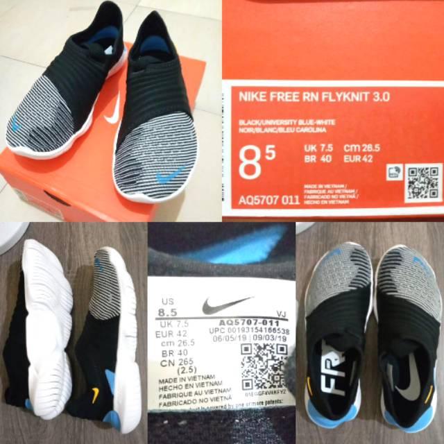 Nike Free Rn Flyknit 3 0 Shopee Indonesia