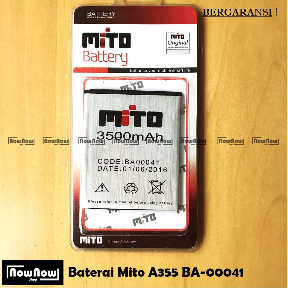 Baterai Mito Fantasy style A550 Batrai Mito A 550 Fantasy Style Ba-00119 batray Double IC PROTECTION | Shopee Indonesia