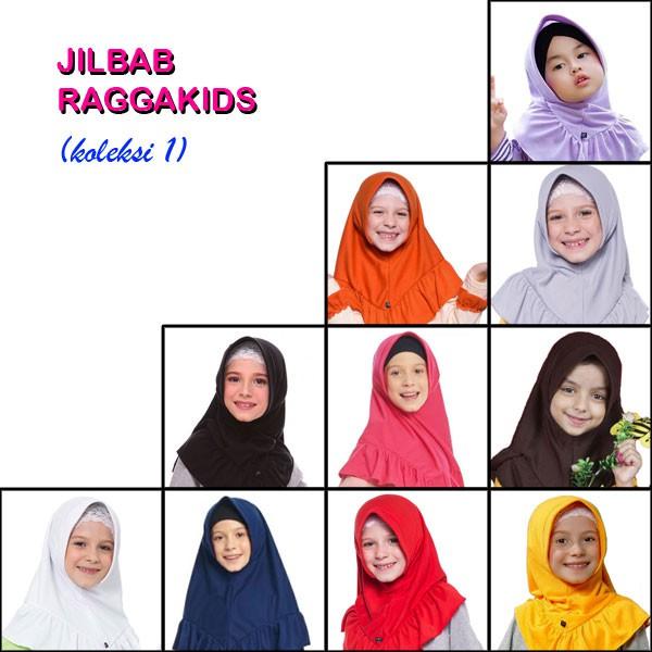 Jilbab Kaos Anak Raggakids (koleksi I)