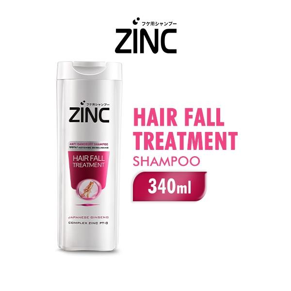 ZINC Shampoo Hair Fall Treatment Botol 340ML