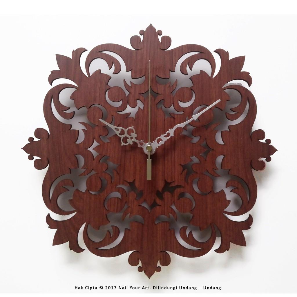 VL - NAIL YOUR ART - JAM DINDING UNIK ARTISTIK - ARTISTIC WALL CLOCK - Owl   035bb73770