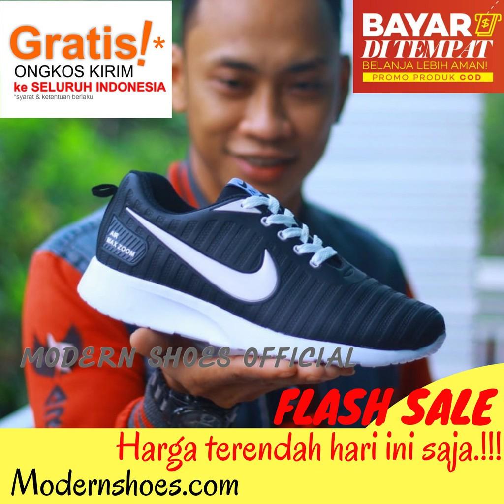 Sepatu Nike Zoom 2020 Sneakers Pria Wanota Running Shopee Indonesia