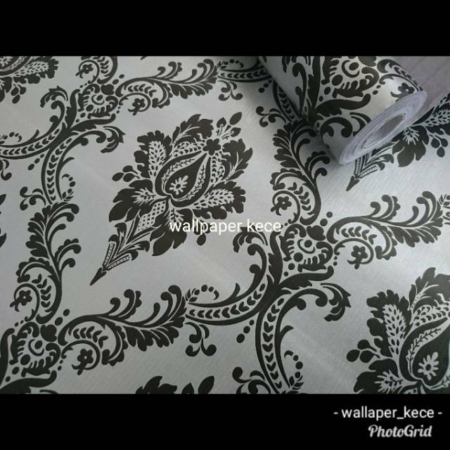 Wallpaper Sticker Dinding 45cm x 10m Salur Biru Walpaper Stiker | Shopee Indonesia