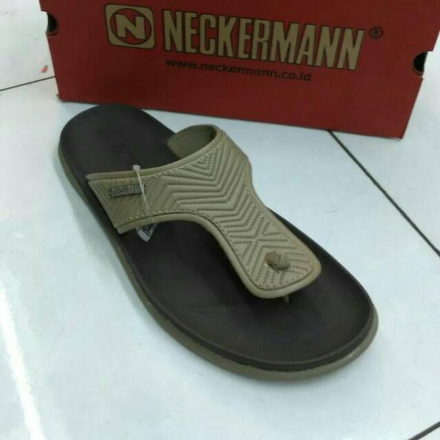 Jualan Sendal Neckerman Sandal Pria Dayton 526 Ivory Diskon | Shopee Indonesia
