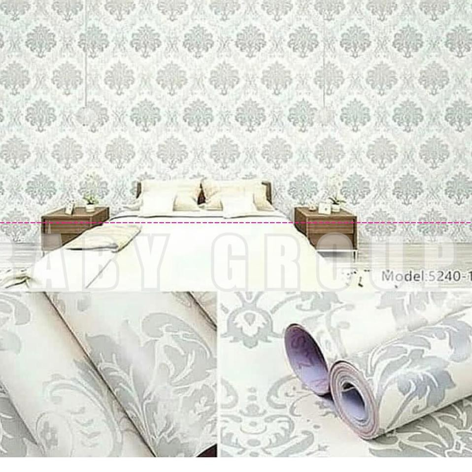 Gambar Asli ➵ Wallpaper Dinding Motif Dan Karakter Premium Quality Size 45cm X 10M PILIHAN SESUAI KO