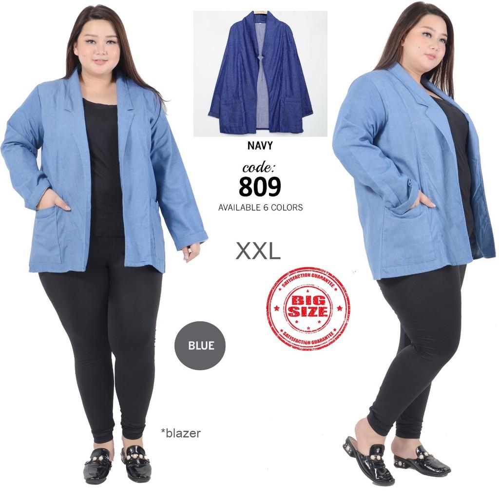 55 Gambar Baju Blazer Wanita Ukuran Jumbo Paling Hist