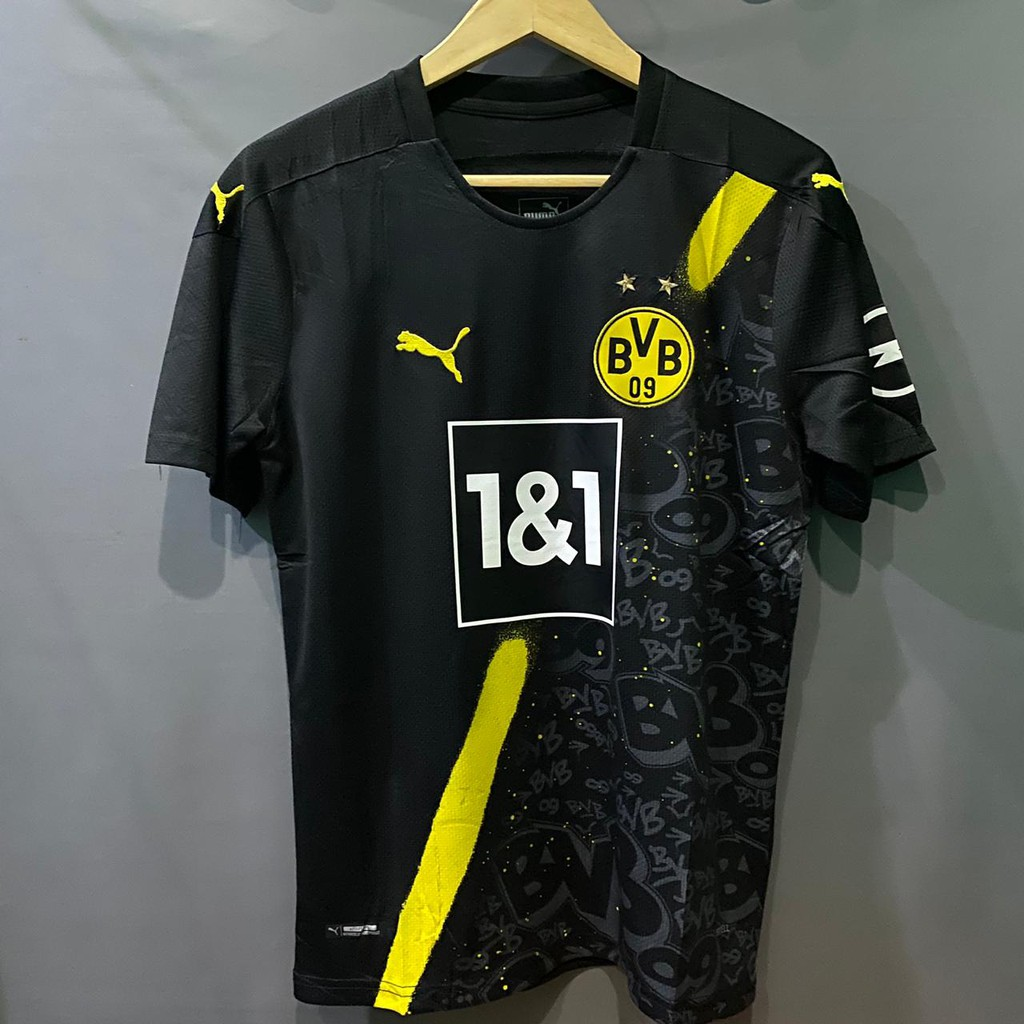 Jersey Bola Borrusia Dortmund Away New 2020 2021 Shopee Indonesia