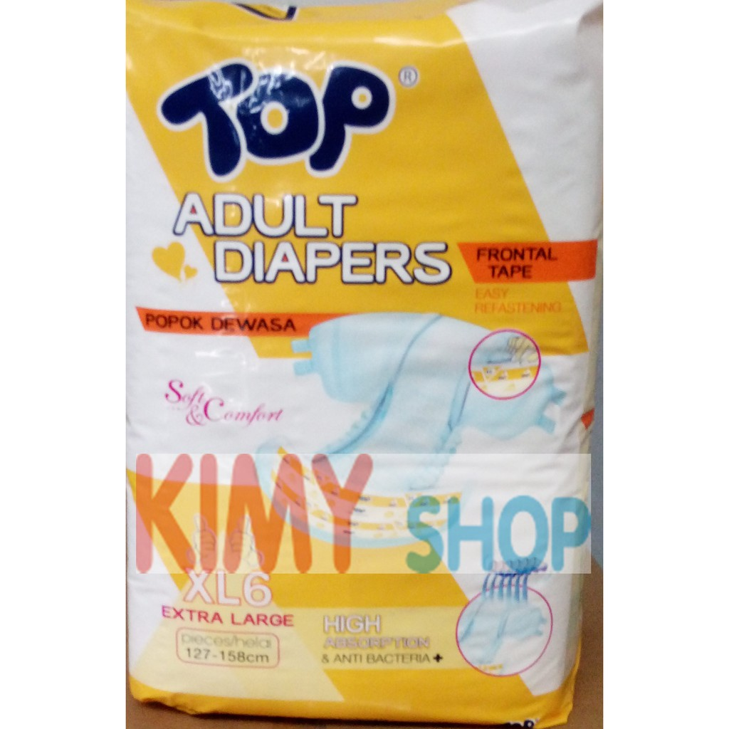 Linco Diapers Adult M L Xl Shopee Indonesia Drkang Pants Xl8