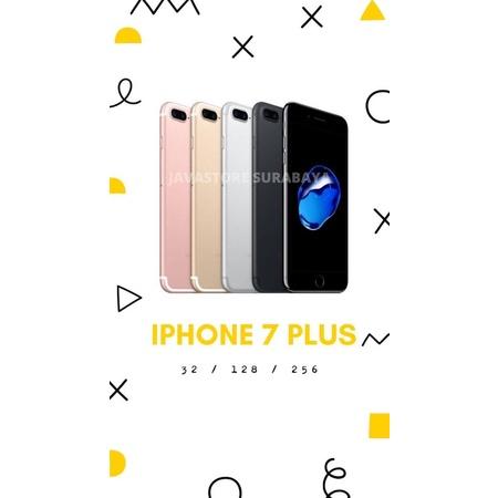IPHONE 7 PLUS 128GB SECOND RESMI IBOX FULLSET ORIGINAL