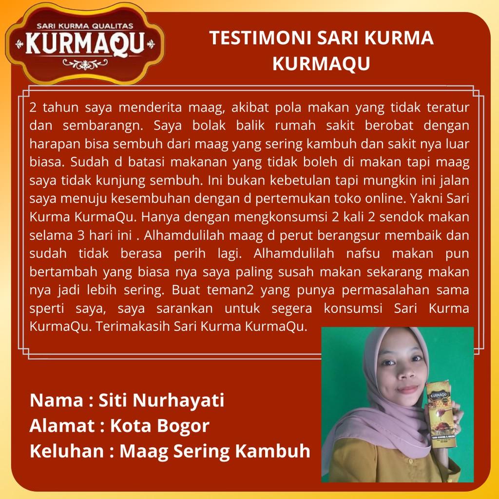 KURMAQU Ekstrak Sari Kurma dan Madu - Suplemen Untuk Tubuh - BISA COD |  Shopee Indonesia
