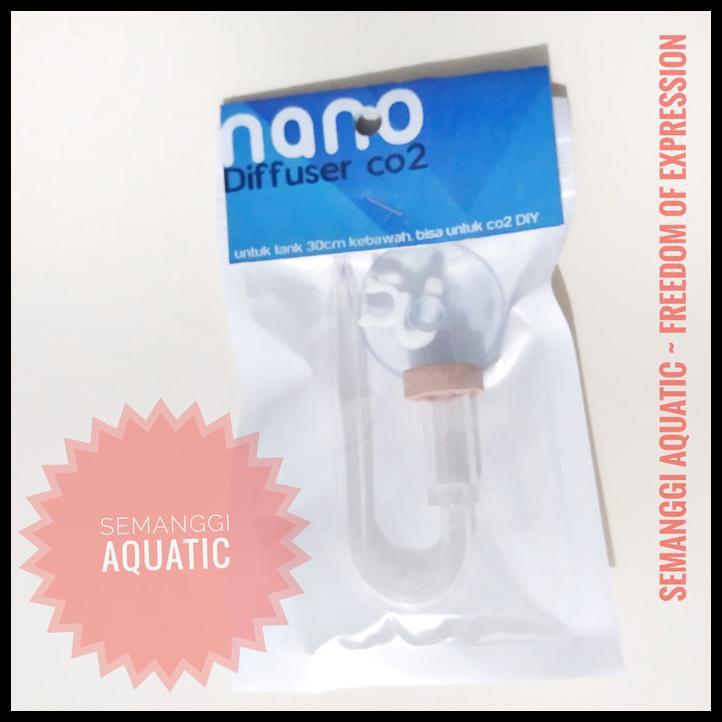 Nano Diffuser Co2 / Diffuser Cisod / Diffuser Akrilik / Diffuser Diy