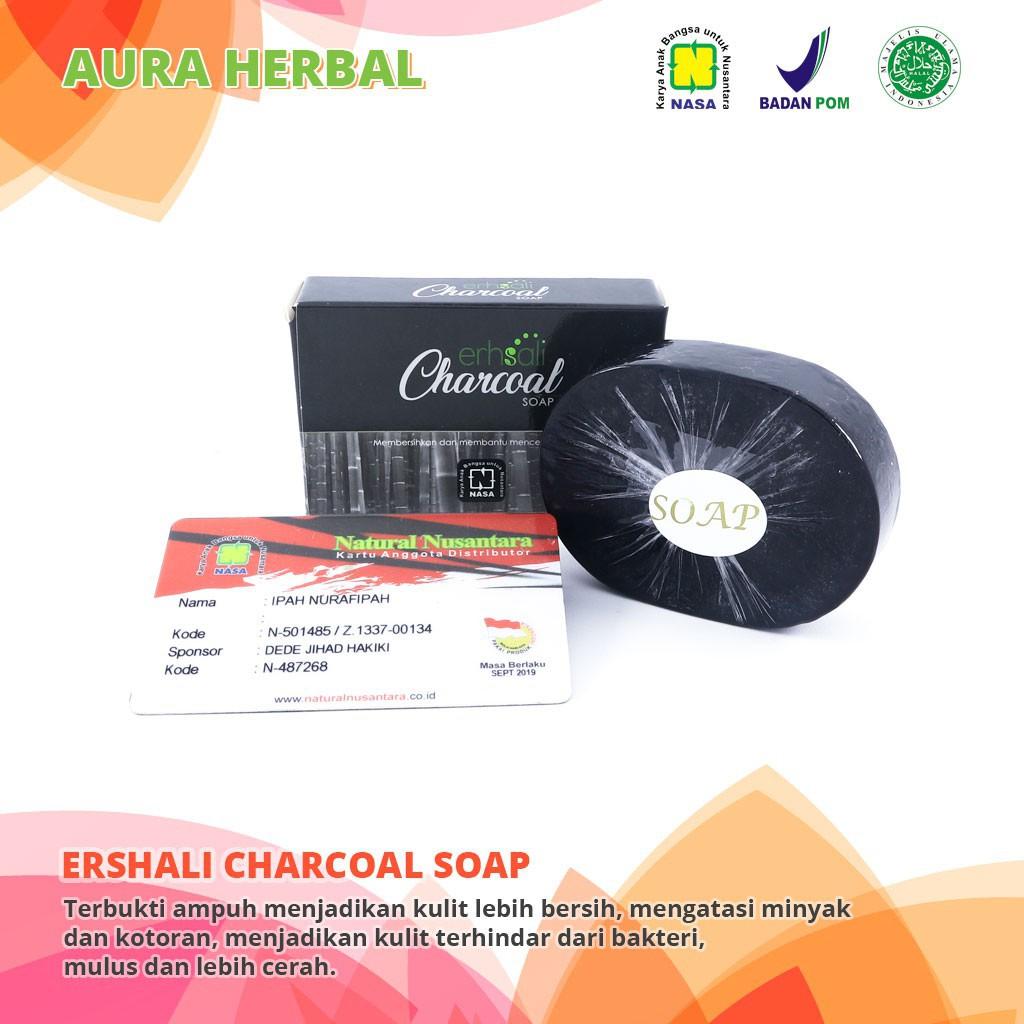 Sabun Muka Erhsali Charsoal Soap NASA - Menjaga Kulit Dari Debu & Kotoran | Shopee Indonesia