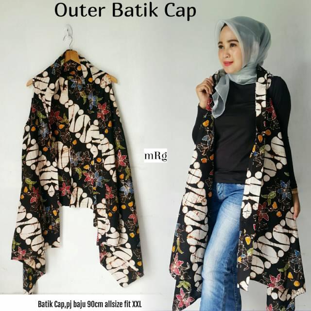 Outer Batik Modern Outer Batik Atasan Batik Batik Modern Outer Batik Muslimah Batik Wanita