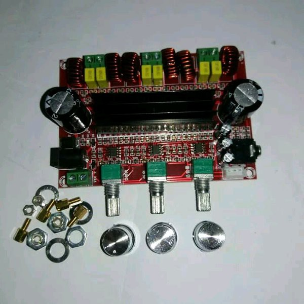 kit mini amplifier home theater 2.1 Ch
