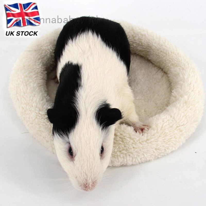 Soft Fleece Guinea Pig Bed Winter Small Animal Cage Mat Hamster Sleeping Bed Uk