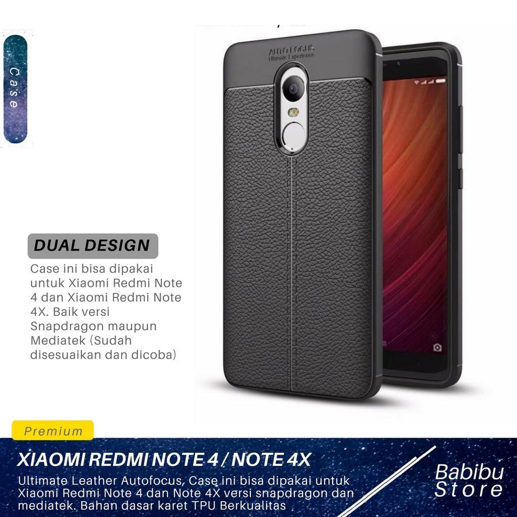 Calandiva Case Xiaomi Redmi Note 4X , Note 4 Snapdragon Casing Ring Carbon Kickstand Hybrid Premium | Shopee Indonesia