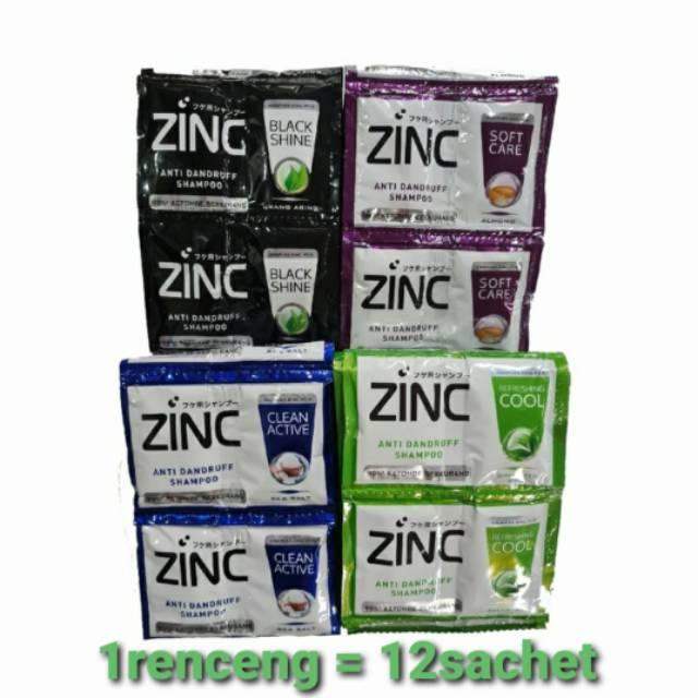 Shampo ZINC sachet (1renceng = 12sachet)