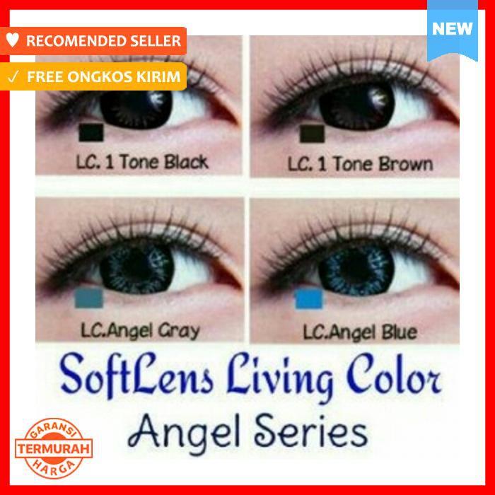 Softlens Living Color lovely / soft lens LC / lensa kontak / contact lens | Shopee