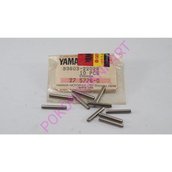 super murah  pin pen pompa oli yamaha DT100 DT125 RS100 YL2 L2 RD350 RD200 GT80 original japan