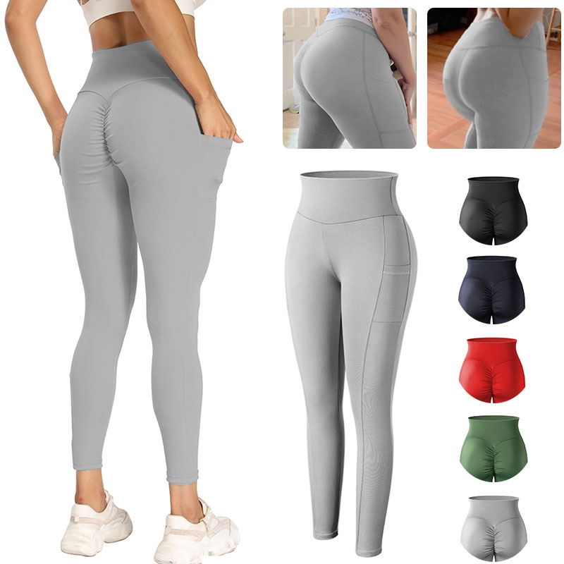 Celana Legging Panjang Sport Bahan Katun Tebal Lembut Untuk Wanita Shopee Indonesia