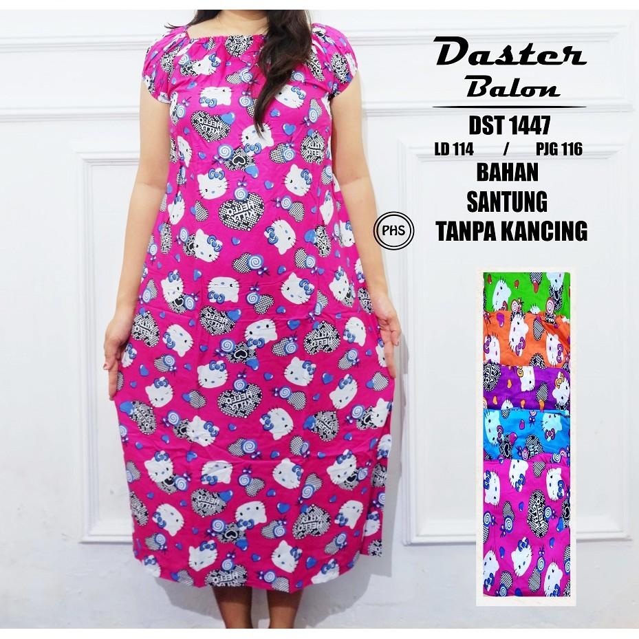 NEW ! DST1447 Daster balon baju tidur (1KG 6pcs)  551f59e880