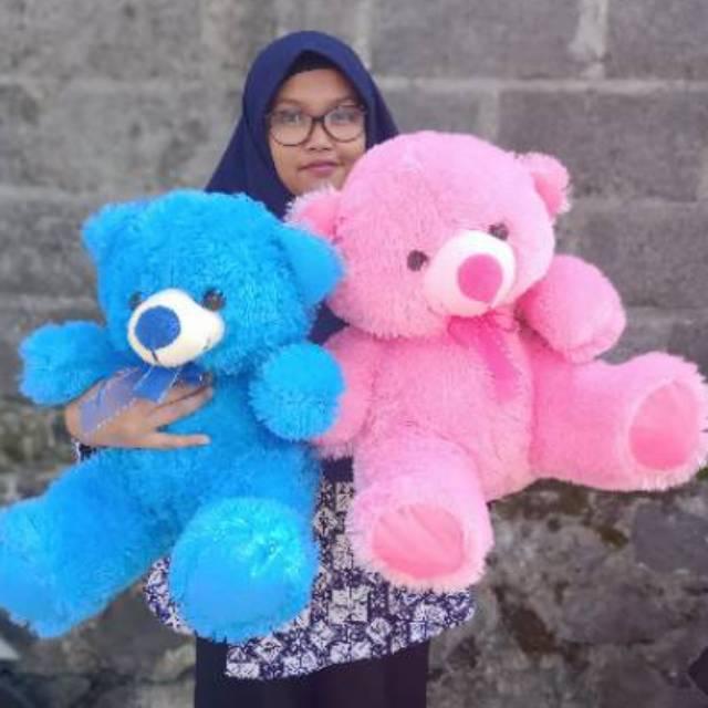 Cute Lamb Stuffed Animals, Boneka Beruang Teddy Bear Duduk 50cm 100rb Dapat 2 Shopee Indonesia