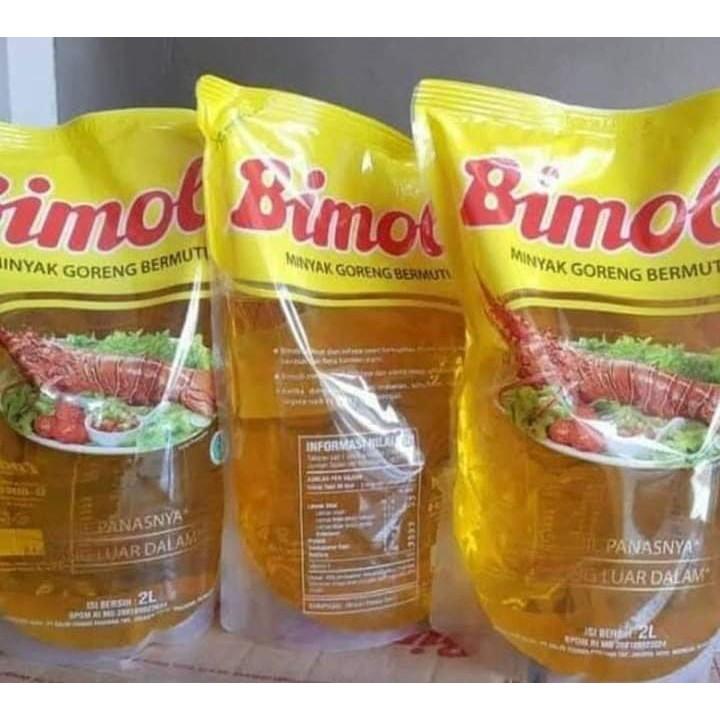 Minyak Goreng Bimoli 2 Liter 6 Pcs/Dus, Beli 5 Dus Bonus 1 Dus