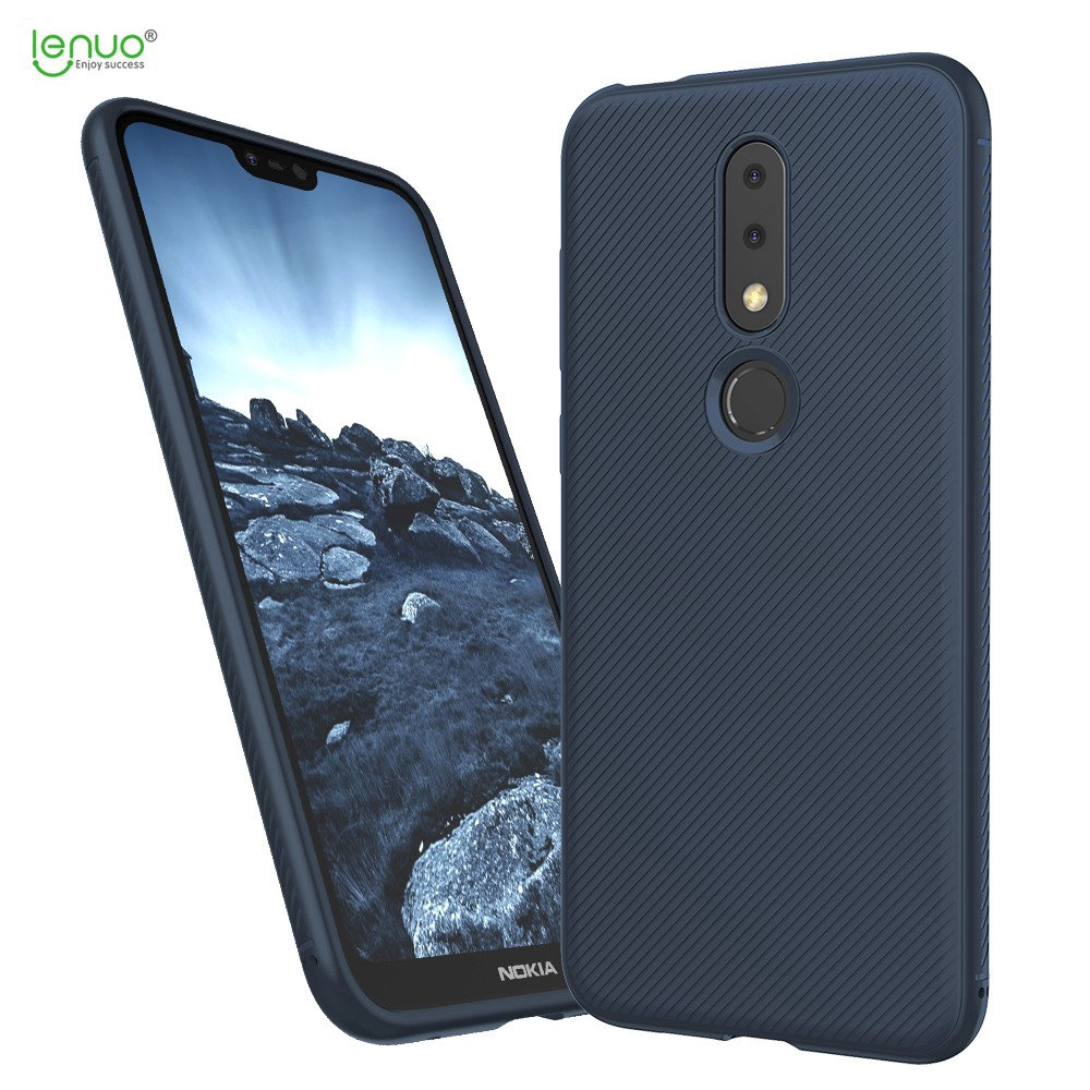 For Nokia 6.1 Plus(2018)/X6 Tempered Glass+TPU Backcover Protective Phone Case Cover | Shopee Indonesia