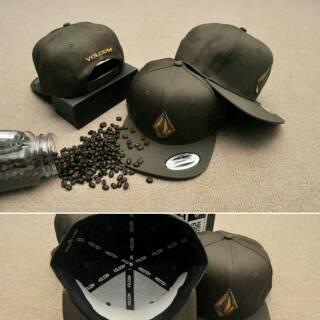 9eeb7f882d9b3b topi snapback volcom/ volcom cap original import/ hat | Shopee Indonesia