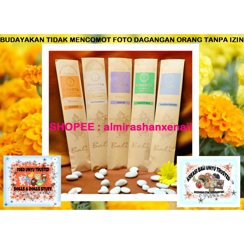 Bhakta Bali Dupa Spa Aromatherapy Stick Original Produk Khas Reed Disffusion Pengharum Ruangan Aroma Terapi Tea Murah Shopee Indonesia