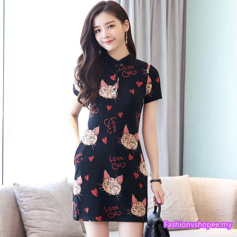 Gaun Maxi Wanita Lengan Pendek dengan Kerah O-Neck dan Hiasan Renda Bergaya Korea untuk Pesta | Shopee Indonesia