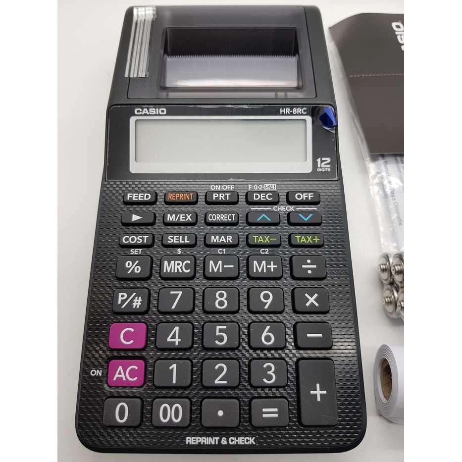 ... Dr 240tm Putih Dan. Source · HR - 8 RC Kalkulator Casio Portable Printer Reprint Check | Shopee Indonesia