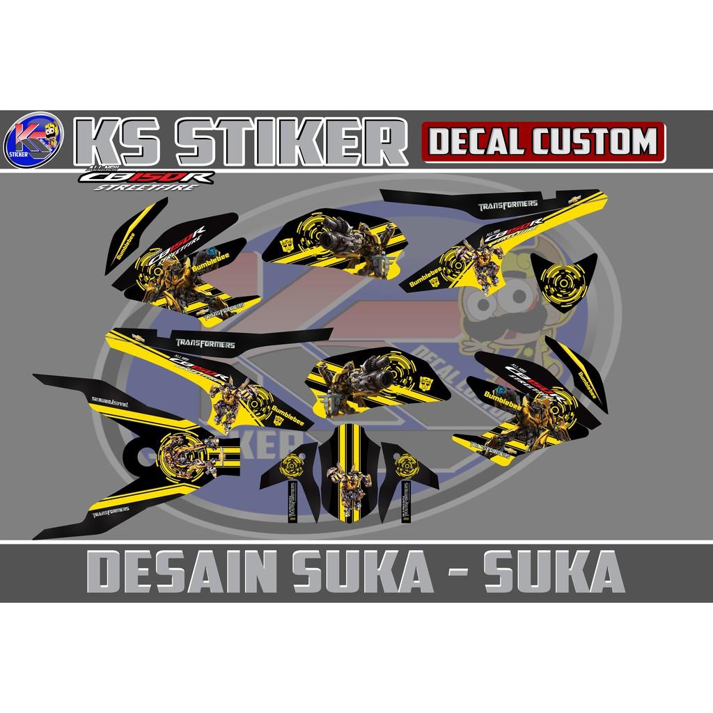 Decal stiker honda cbr250rr blue movistar jl99 shopee indonesia