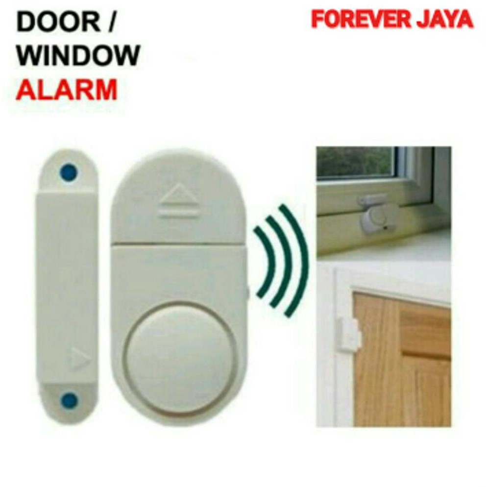Buy 1 Get1 Door Window Alarm Jendela Pintu Rumah Alat Pengaman Anti Maling FJ1 | Shopee