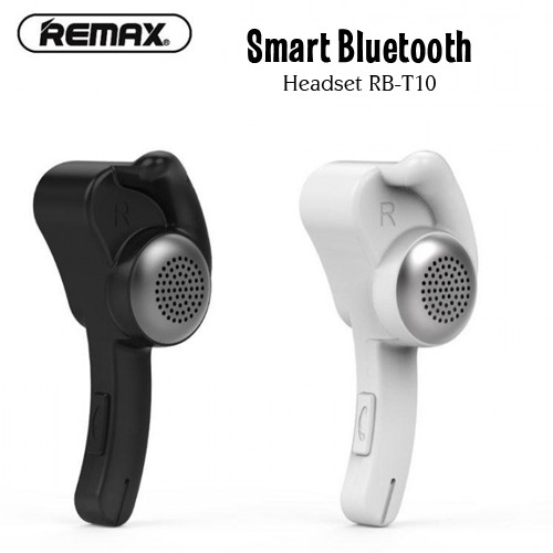 Remax Smart Bluetooth Headset Handsfree RB-T10 Earphone Wireless