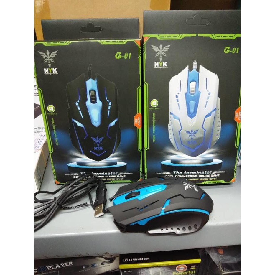 Nyk G 01 Gaming Mouse Usb Shopee Indonesia G01