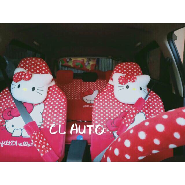 Sarung Jok Mobil 18 in 1 Bantal Mobil 18in1 Minnie Mouse / Mini Mouse (2 Baris) | Shopee Indonesia