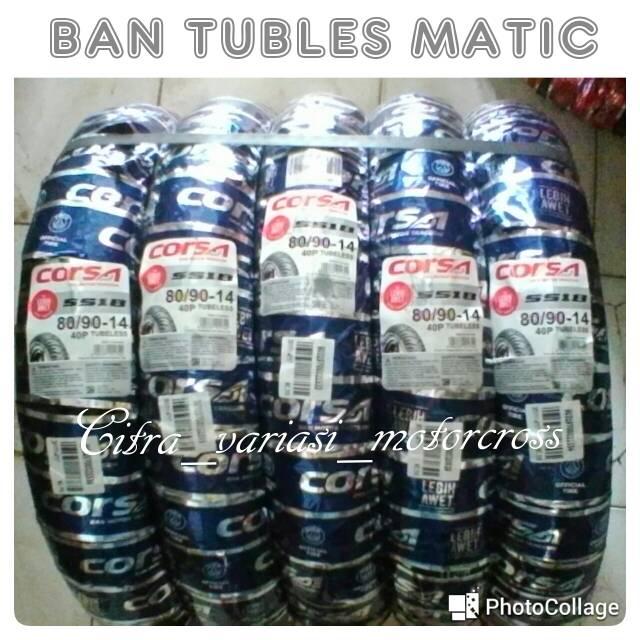 Ban Tubles Matic Swallow FREE PENTIL UK70 9014 FOR ALL MATIC Standar YAMAHA