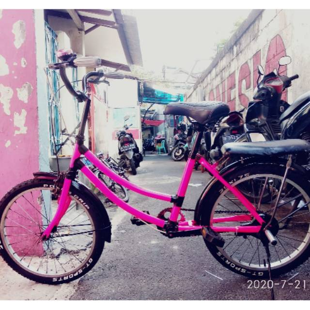 Sepeda Minion Phoenix 20 Inch Repaint Shopee Indonesia