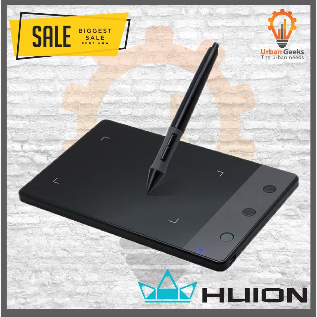 [DARI JAKARTA] Huion H420 Tablet Papan Grafik Gambar USB 4x2,3 Inch+ Pena  Digital