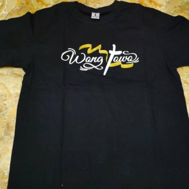 Kaos Baju Tshirt Sobat Ambyar Wong Jowo Distro Pakaian Premium