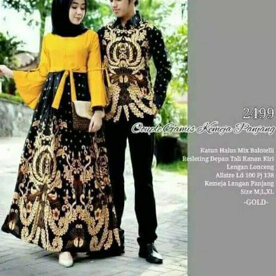 Tna 17 Shopashop Solo Gamis Muslim Kebaya Muslim 2499 Batik Couple Gamis Syari Long Dress Batik Co