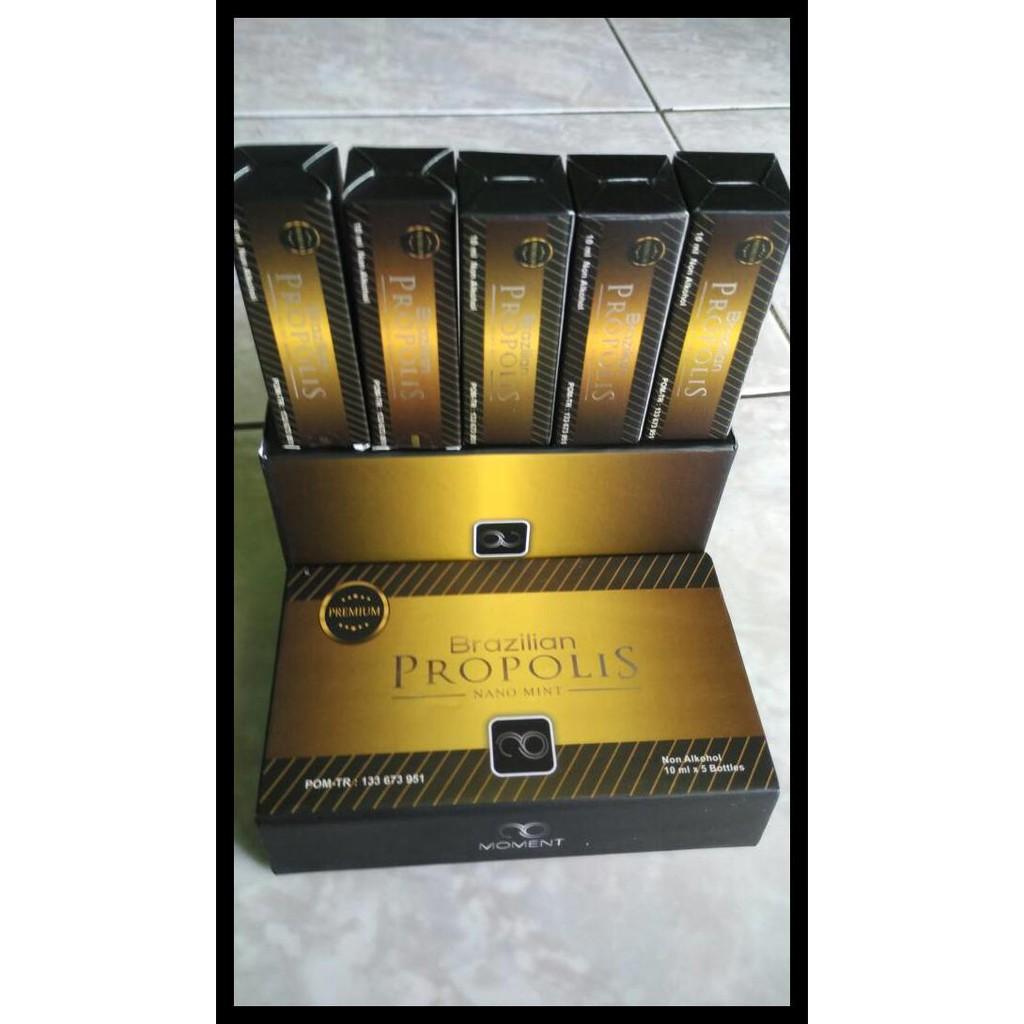 Propolis Brazilian moment nano Perpaket 1 box ASLI | Shopee Indonesia